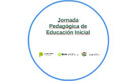 Jornada Pedagógica de Educación Inicial
