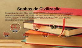 Copy of Sonhos de civilização
