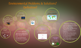 Environmental Problems & Solutions!