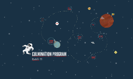CULMINATION PROGRAM