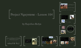 Project NgayNume - Lesson 104