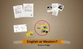 English or Western?