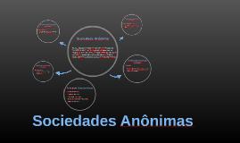 Sociedades Anônimas