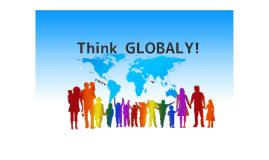 令和元年 新 Think GLOBAL!