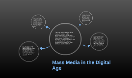 Mass Media in the Digital Age