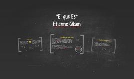 """""""El que Es"""""""