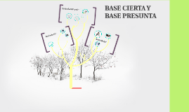 Base Cierta y Base Presunta