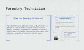 Forestry Technician