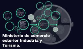 Ministerio de comercio exterior Industria y Turismo.