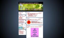 Oppisopimusmuotoinen opiskelu