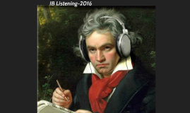 IB Listening - 2016