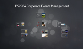 BS2184 Corporate Events Management