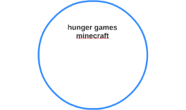 hunger games minecraft