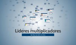 Líderes multiplicadores