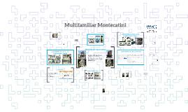 Multifamiliar Montecatini Apartamentos