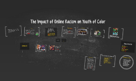 The Internet and The Impact of Online Racism on Youth of Col