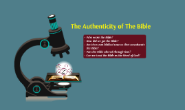 Copy of The Authenticity of The Bible