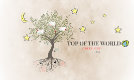 "Dying on top of the world.  ""Top of the World by Greek Fire"""