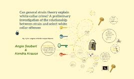 strain theory and crime pdf