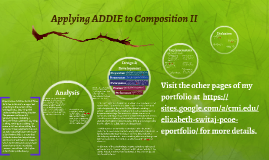 Applying ADDIE to Composition II