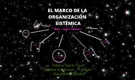 Copy of El marco de la Organización Sistémica: Marie - Luise Friedemann
