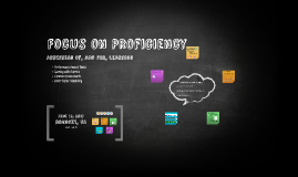 Focus on Proficiency