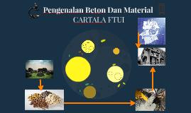 Pengenalan Beton Dan Material