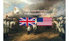 Den Amerikanske Uafhængighedskrig