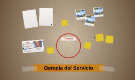 Gerecia del Servicio