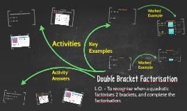 Double bracket factorisation