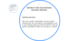 Gender in the 21st Century