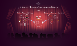 J.S. Bach - Chamber/Instrumental Music