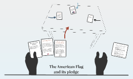 The American Flag and pledge
