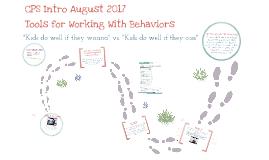 August 2017 Intro Collaborative Problem Solving