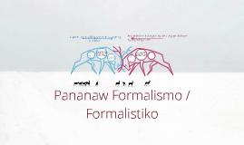 Pormalistiko / Sanaysay