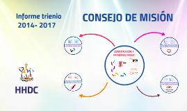 INFORME TRIENIO 2014- 2017