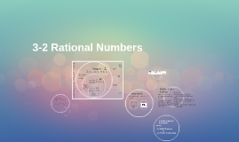 10-3 Rational Numbers