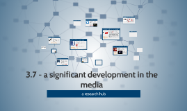 Copy of 3.7 - a significant development in the media