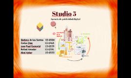 Gestión alcance Studio 5
