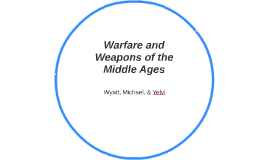 Warfare and Weapons of the Middle Ages