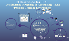 Copy of P.L.E. Entornos Personales de Aprendizaje