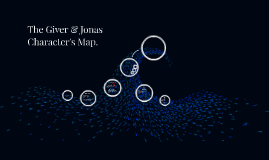 The Giver & Jonas Character's Map.