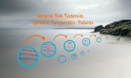 Surgical Risk Factors in Geriatric Perioperative Patients