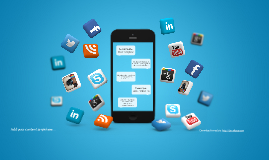 Social Mobile Prezi Template 프레지 템플릿