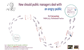 Copy of How Should Manager Deal With An angry Public
