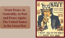 From Peace, to Neutrality, to War to Peace Again