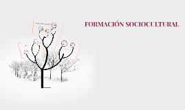 FORMACIÓN SOCIOCULTURAL