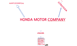 Copy of Honda Motor Company