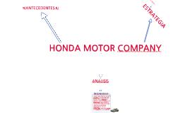 Copy of Honda Motor Company
