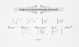 Origen y Evolución Derecho Mercantil